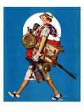 """At the Auction"" or ""Found Treasure"", July 31,1937 Giclee Print by Norman Rockwell"