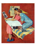 """Movie Star"", February 19,1938 Giclee Print by Norman Rockwell"
