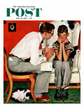 """Facts of Life"" Saturday Evening Post Cover, July 14,1951 Giclee Print by Norman Rockwell"