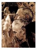 """Freedom of Worship"", February 27,1943 Giclée-Druck von Norman Rockwell"