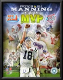 Peyton Manning &amp; Eli Manning Art
