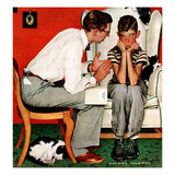 """Facts of Life"", July 14,1951 Giclee Print by Norman Rockwell"