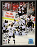 Pittsburgh Penguins Celebration Game 7 of the 2008-09 NHL Stanley Cup Finals Poster