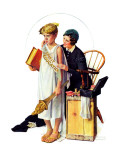 """Spirit of Education"", April 21,1934 Giclee Print by Norman Rockwell"