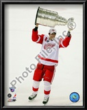 Pavel Datsyuk with the Stanley Cup, Game 6 of the 2008 NHL Stanley Cup Finals; 29 Prints