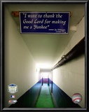 Yankee Stadium dugout Tunnel Final Game September 21, 2008 Prints