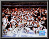 2009-10 Chicago Blackhawks Team Posters