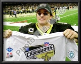 Drew Brees 2009 NFC Championship Game Posters