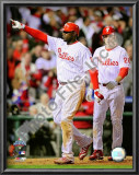 Ryan Howard &amp; Chase Utley Game 4 of the 2008 MLB World Series Posters