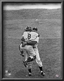 Don Larsen &amp; Yogi Berra Game 5 of the 1956 World Series Poster