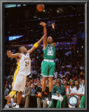 Ray Allen Game Two of the 2009-10 NBA Finals Posters