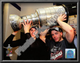 Jonathan Toews & Patrick Kane With the 2010 Stanley Cup Prints