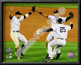 Derek Jeter, Mark Teixeira, and Alex Rodriguez Game Six of the 2009 ALCS Art
