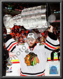 Antti Niemi with the 2009-10 Stanley Cup Print