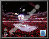 United Center Game Two of the 2010 NHL Stanley Cup Finals Poster
