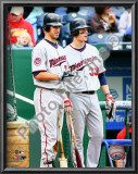 Joe Mauer &amp; Justin Morneau 2010 Posters