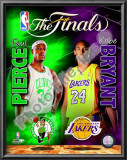 2009-10 NBA Finals Matchup Prints