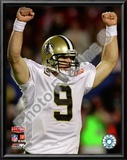 Drew Brees Super Bowl XLIV Posters