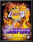 2008-09 Los Angeles Lakers NBA Finals Champions Print