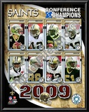 2009 New Orleans Saints NFC Champions Art