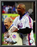 Yogi Berra &amp; Darryl Strawberry Final Game at Shea Stadium 2008 Poster