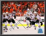 Patrick Kane, Patrick Sharp, &amp; Nick Boynton 2010 Stanley Cup Print