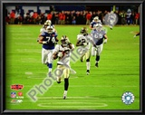 Tracy Porter Super Bowl XLIV Interception & Touchdown Return Art
