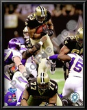Pierre Thomas 2009 With NFC Championship Prints
