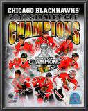 2009-10 Chicago Blackhawks Stanley Cup Champions Art