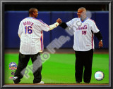 Dwight Gooden &amp; Darryl Strawberry Final Game at Shea Stadium 2008 Art