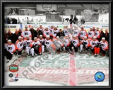 The Philadelphia Flyers Team Photo 2010 NHL Winter Classic Art