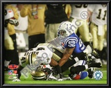 Roman Harper &amp; Chris Reis Onside Kick Recovery Super Bowl XLIV Print