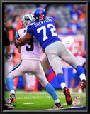 Osi Umenyiora 2010 Action Prints
