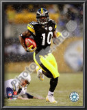 Santonio Holmes 2008 Playoffs Print
