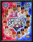 2009 MLB World Series Match Up Philadelphia Phillies Vs. New York Yankees Posters
