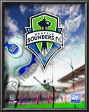 Seattle Sounders 2008  Logo Print