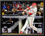 Chase Utley Game 1 of the 2009 World Series Prints