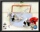 Marc-Andre Fleury Game 7 of the 2008-09 NHL Stanley Cup Finals Prints