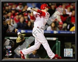 Chase Utley 2009 MLB World Series 3 Run Home Run Posters