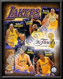 "2009 Finals - Lakers ""Big 5"" Art"