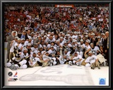 Pittsburgh Penguins Game 7 of the 2008-09 NHL Stanley Cup Finals Celebration Posters