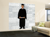 """""""Graduate"""" Saturday Evening Post Cover, June 6,1959 Wall Mural – Large by Norman Rockwell"""