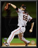 Tim Lincecum Game Five of the 2010 World Series Action Art