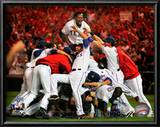 The Texas Rangers Celebrate winning the 2010 ALCS Posters