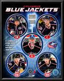 2010-11 Columbus Blue Jackets Team Composite Print