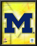 2009 University of Michigan Team Logo Poster