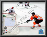 Claude Giroux Game Four of the 2010 NHL Stanley Cup Finals Goal Print