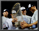 Andy Pettitte, Jorge Posada, Derek Jeter, & Mariano Rivera Game Six of the 2009 MLB World Series Prints