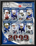 2009 Indianapolis Colts AFC Champions Team Prints