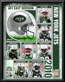 2010 New York Jets Composite Prints